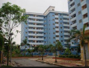 Nhà ở xã hội đang được xây dựng ở Đồng Nai