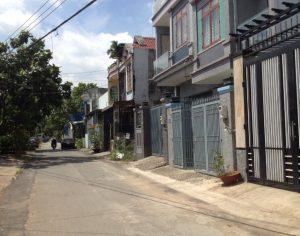 Bán đất Ngã 4 Tân Phong Biên Hòa 6,5x19m giá 3,6 tỷ sổ riêng thổ cư 100%